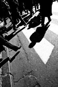 צילום רחוב בשחור לבן